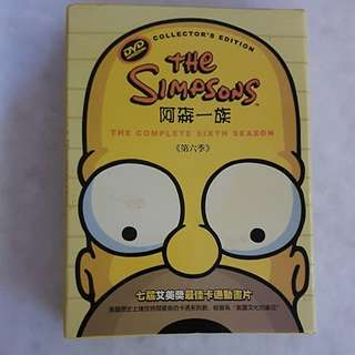 DVD - The Simpsons (The Complete Sixth Season)