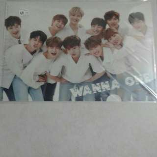 Yes Cars A4 File Folder Wanna One