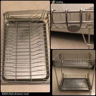 KRIS Stainless Steel Dish Drainer rack