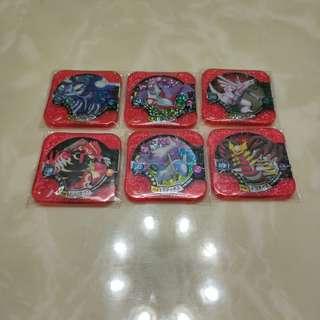 pokemon tretta 寶可夢 神奇寶貝 機台 四星 U3 原始 蓋歐卡 固拉多 拉帝歐斯 拉帝亞斯 帕路奇亞 騎拉帝納