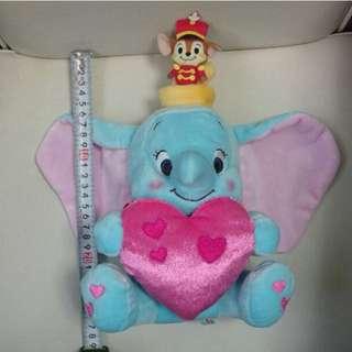 Dumbo 小飛象 2015情人節絕版公仔