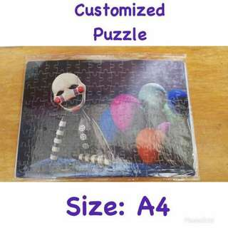 Customized picture puzzle
