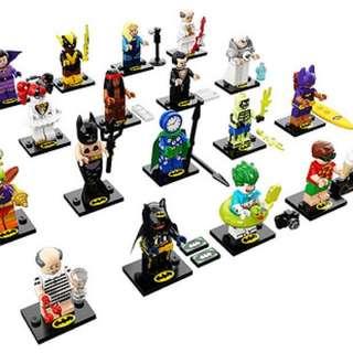 Lego minifigure batman movie series 2