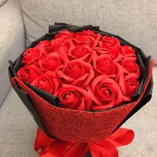 玫瑰香皂花