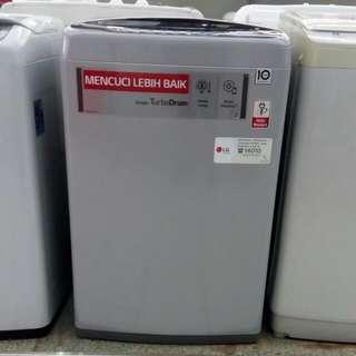 LG mesin cuci top loading bisa cicilan proses 30 menit