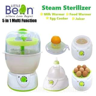 LITTLE BEAN 5 IN 1 MULTI-FUNCTION STEAM STERILIZER