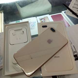 IPhone 8 Plus 64GB Gold New Ready Cicilan Tanpa CC