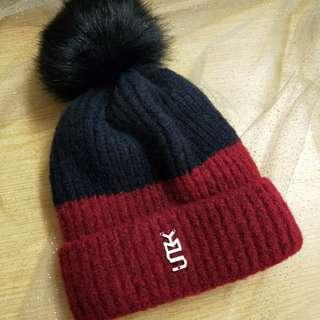 🚚 毛球加絨毛帽