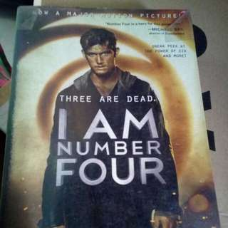 I Am Number Four Movie Cover Limited Edition Autographed / Signed by Pittacus Lore