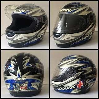 Bike full faced helmet