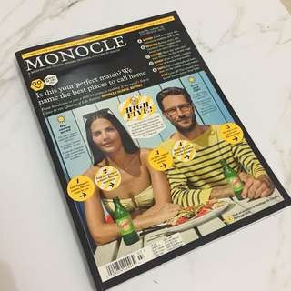 Monocle issue 85