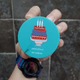 Innisfree No Sebum Mineral Powder Make up (3g)