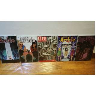 Life with Archie #36 cover set - All 5 NM Variant Comics (Death of Archie Andrews)