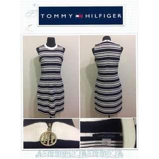Tommy Hilfiger Striped Dress With Pockets