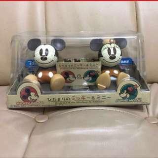🈹️Tomy - Mickey And Minnie 太陽能感光搖頭