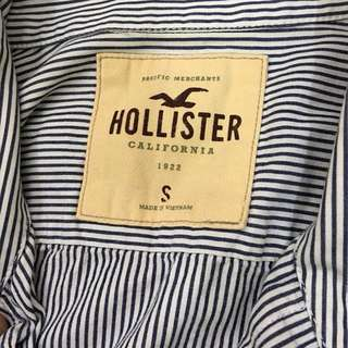 Hollister Shirt (Stripe Blue)