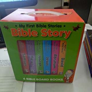 My first bible 6 board book set