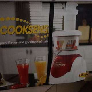 jaco cooksense juicer