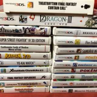 2nd hand 3DS Games