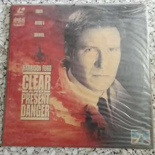 Clear and Present Danger LaserDisc
