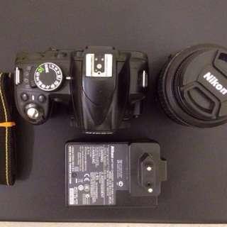 NIKON D3100 + 18mm-55mm VR, 3.5-5.6