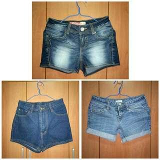Clearance Sale! Denim shorts