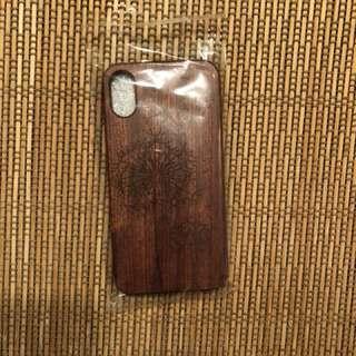 iPhone X 蒲公英木手機殼