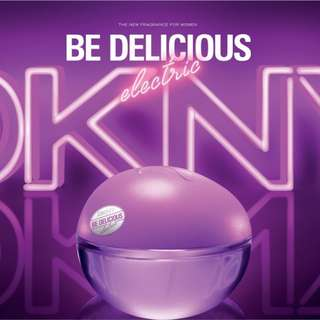 (90%NEW)Donna Karan DKNY limited edition Be Delicious Electric Vivid Orchid 限量版 美味蘭花 100ML