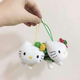 Hello Kitty Mini stuff Toy set of 2