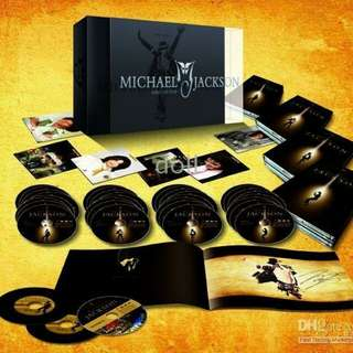 Ultimate Collection 35 Dvd + 6 postcards+book Michael Jackson