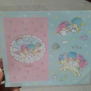 little twins star 八達通卡 貼紙