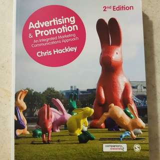 ADVERTISING & PROMOTION - An integrated marketing communication approach