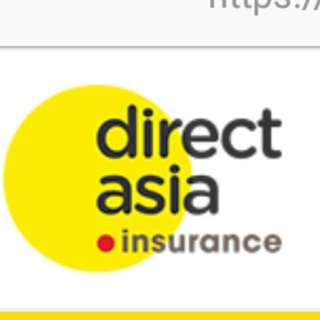 Free $50.00 vouchers.. Looking for car owners w Direct Asia insurance to refer