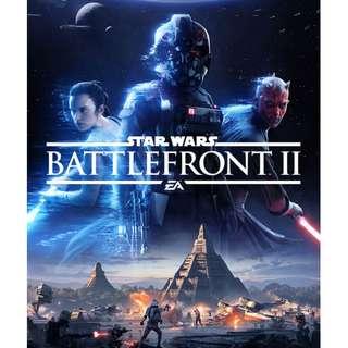 PS4 Game: Star Wars Battlefront 2