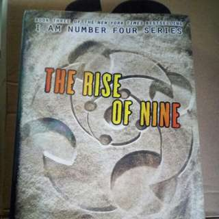Rise of Nine Autographed / Signed by Pittacus Lore