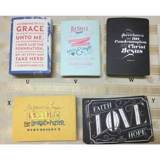 Christian Verses/Quotes Postcards (100Verses1Heart)