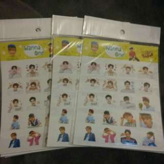 Yes Card Sticker (Wanna One , Black Pink , Twice )