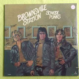 SEALED. BROWNSVILLE STATION. school punks.( drums ever sound better on a record ) Vinyl record