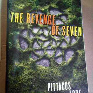The Revenge Of Seven Autographed / Signed by Pittacus Lore