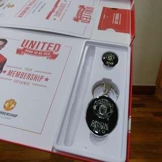 Manchester United keychains