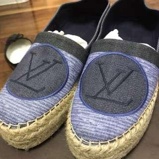 Louis Vuitton Blue espadrilles in size 37