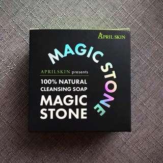 April Skin Magic Stone Cleansing Soap