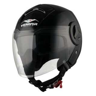 VEMAR Breeze Gloss Black Helmet