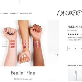 (BN) COLOURPOP 'FAIRY ME' Ultra Glossy Lip