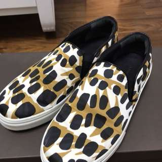 Celine leopard print causal shoes in size 37