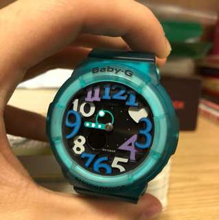 Baby g特別版手錶 9成新 無花