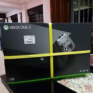 BNIB Xbox One X (1TB)