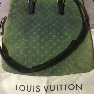 LOUIS VUITTON mini Monogram dark green handbag