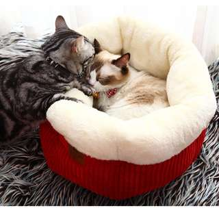 鬆軟厚實杯子蛋糕寵物毛小孩睡窩
