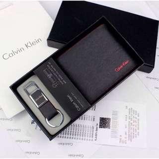 DEALS! Authentic Calvin Klein Wallet with Keychain